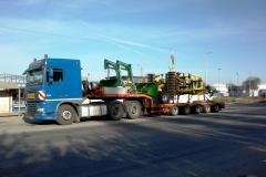 transport utilaj agricol pluj