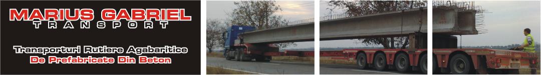 Transporturi grinzi prefabricate din beton armat